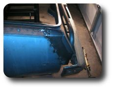 Rear Quarter Panel Filler