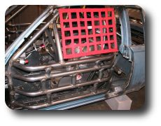 Driver Side Door Bars and Net