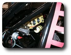 Battery cutoff switch, Brake master cylinder, and Gauges