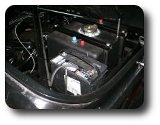 Battery and fuel cell in the trunk
